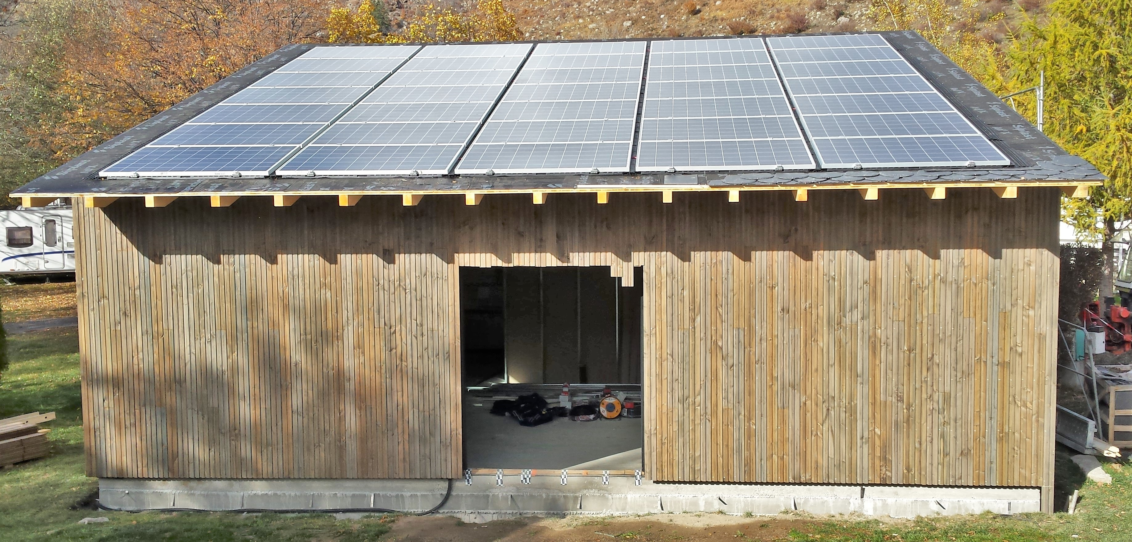 Novembre 2015, 9 kWc, Pyrénées Orientales (66760)