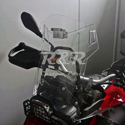 Defletor Bmw F800 Adventure Para-brisa Moto 2009 Em Diante