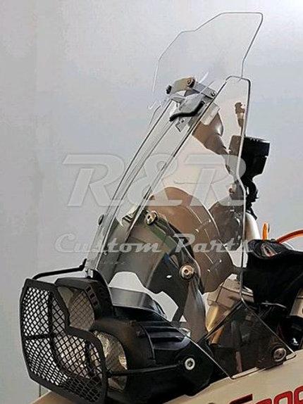 Defletor Para Bmw F800 Gs Para-brisa Moto 2008 Em Diante