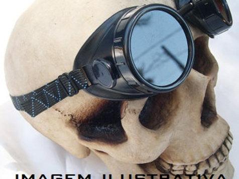 Óculos Estilo Soldador Mad Max Gótico Vintage Motociclista
