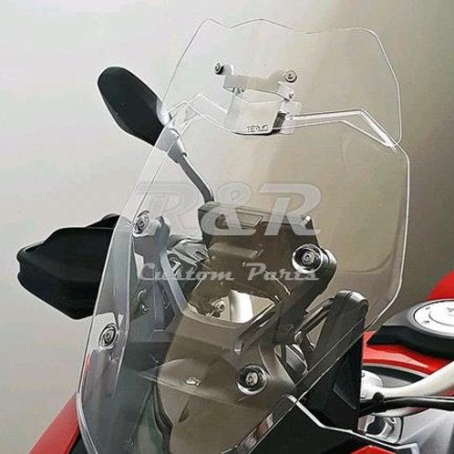 Defletor Bmw S1000xr Para-brisa Moto 2014 A 2018 Bolha
