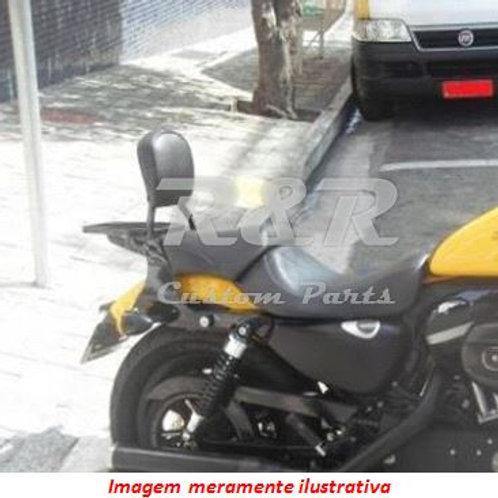 Sissy Bar Encosto Garupa Harley Xl1200 Forty - Eight 48 Fixo
