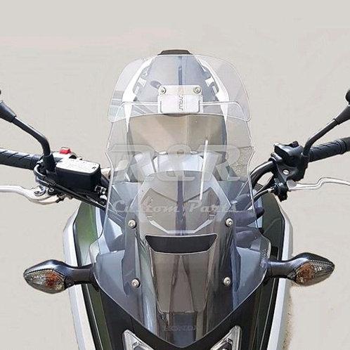 Defletor Honda africa Twin Nc 750 X Com Abs Para Brisa Bolha