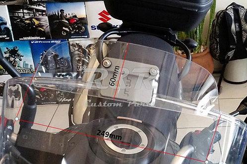 Defletor Mt-09 Tracer Yamaha Para-brisa Bolha Moto Transp.