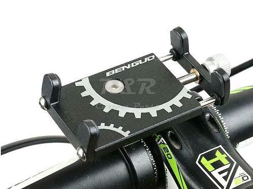Suporte Celular Guidão de 22 a 32mmPara Moto Bike Univ. Preto