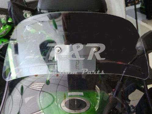Defletor Tenere Xt660 E Xt1200 Yamaha Para-brisa Bolha Moto