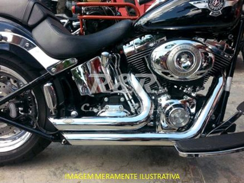 Escapamento Harley Fat Boy 06 A 11 Shorshot Escape Torbal