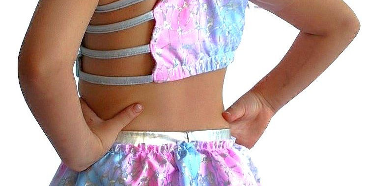 TYLIE Cotton Candy Ruffle Briefs