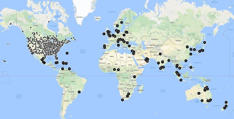 GoVenture Customer Map