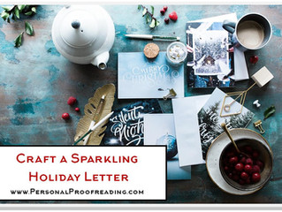 Craft a Sparkling Holiday Letter