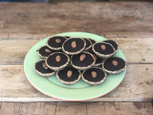 Rawsmary Almond Tartlets (Vegan)