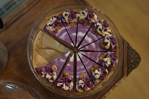 Rawsmary Blackcurrant & Vanilla Cake (Vegan)