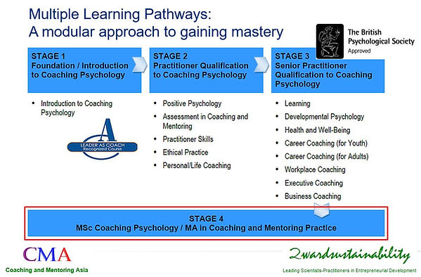 Coaching and Mentoring Asia, Coaching Psychology Asia, 2wardsustainability, Singapore
