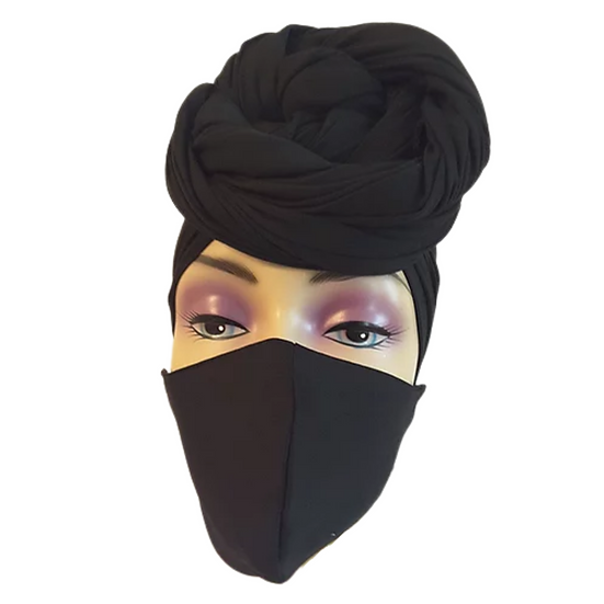 Blaqrose Head Wrap Set