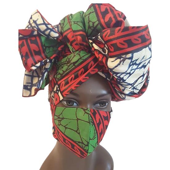 Wild & Vibrant Head Wrap Set