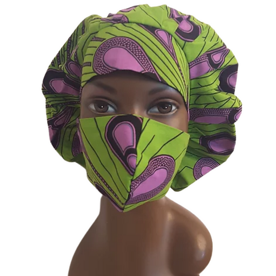 Ms KellyViolet Bonnet Set