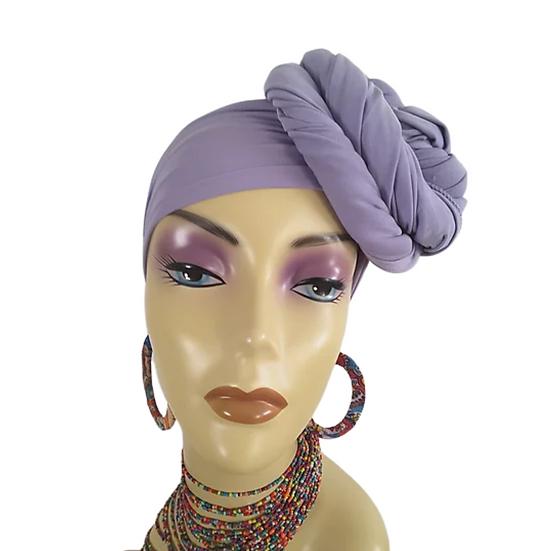 Lovely Lavender Head Wrap