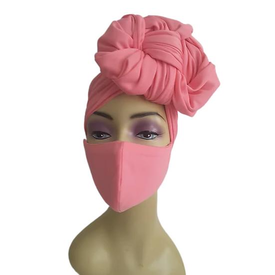 Pretty in Pink Head Wrap Set