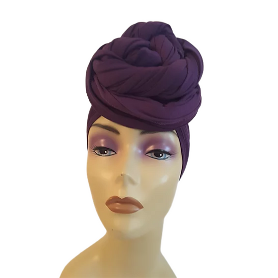 PassionatelyPurple Head Wrap