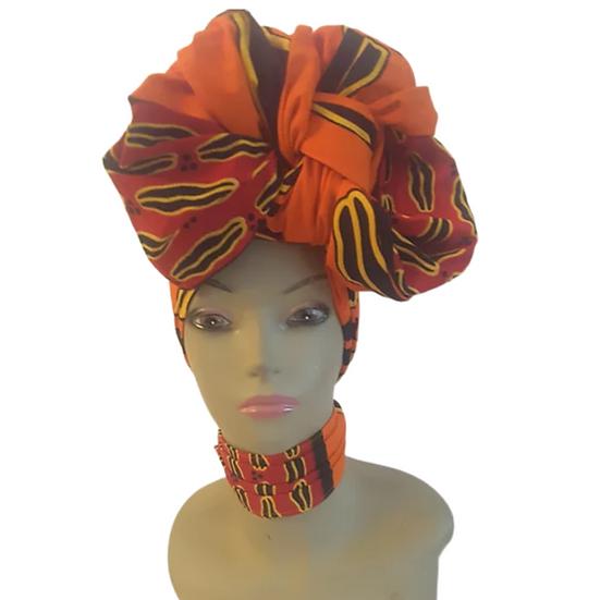 Ms Hotness Head Wrap Set