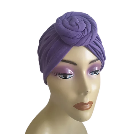 Purple Chic Turban