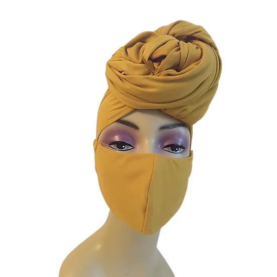 Golden Nugget Head Wrap Set