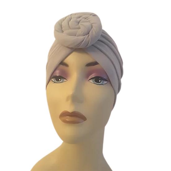 Grey Chic Turban