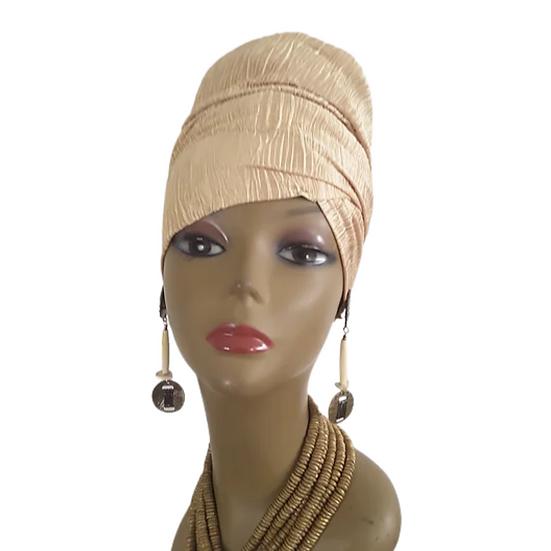 Golden Queen Head Wrap