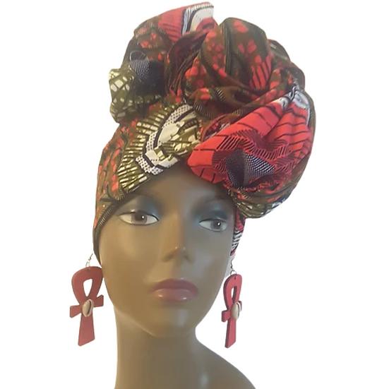 Hot Magenta Head Wrap