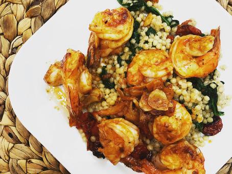 Buttery garlicky shrimp