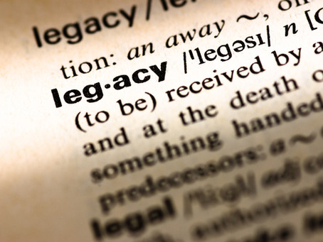 Your desired legacy