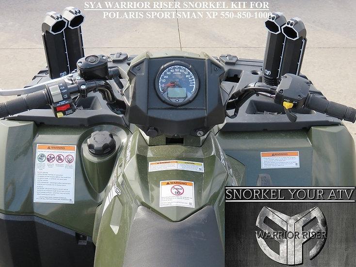 SYA Warrior Riser Snorkel kit for Polaris Sportsman 550  09-14