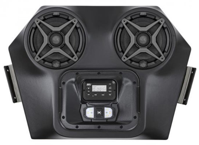 RZR 570 800 XP900 Bluetooth 2 Speaker Overhead Weather Proof Audio System