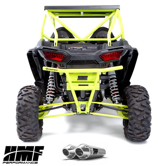 HMF PERFORMANCE DUAL FULL EXHAUST FOR RZR XP 1000 15-20