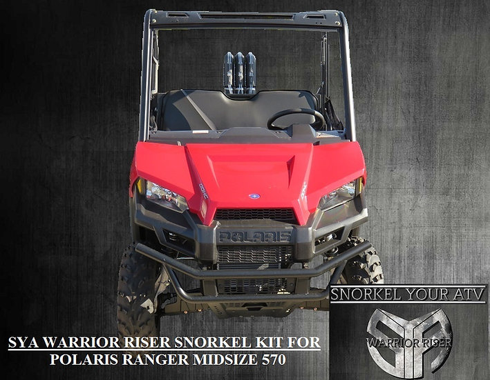 SYA Warrior Riser Snorkel kit for Polaris Ranger MidSize ...