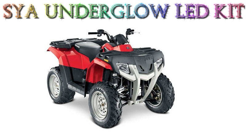 SYA RGB MULTI COLOR LED UNDERGLOW LIGHT KIT FOR POLARIS HAWKEYES