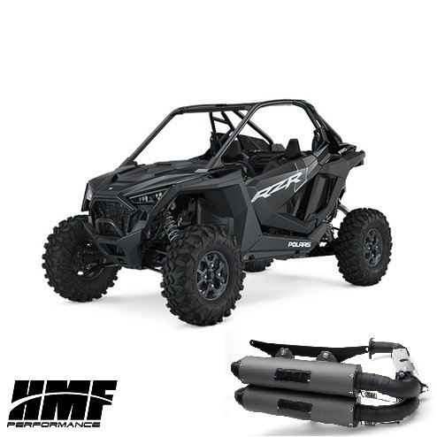 HMF PERFORMANCE DUAL FULL EXHAUST FOR RZR XP PRO