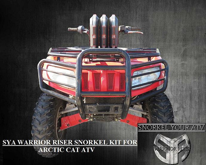 SYA Warrior Riser Snorkel kit for Arctic Cat 700 EFI 06-08