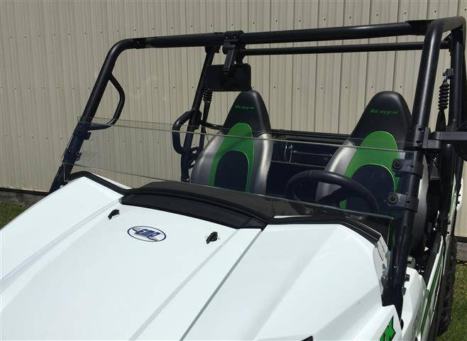 HALF WINDSHIELD FOR TERYX 800 2 & 4 SEATERS 16-19