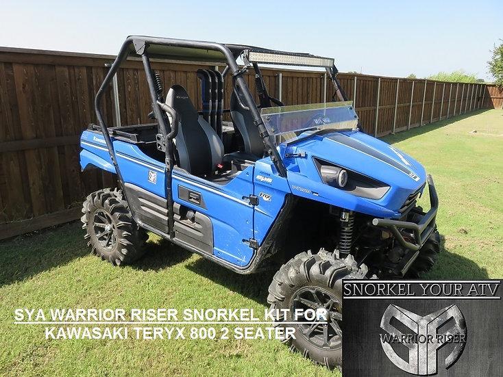 SYA Warrior Riser Snorkel kit for Kawasaki Teryx 800 2 Seater 2014 - 2022