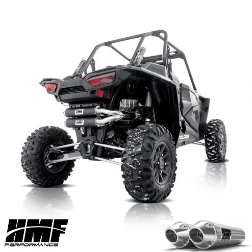 HMF PERFORMANCE DUAL FULL EXHAUST FOR RZR XP 1000 TURBO