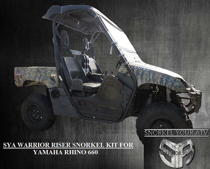 SYA Warrior Riser Snorkel kit for Yamaha Rhino 660  2004 - 2007