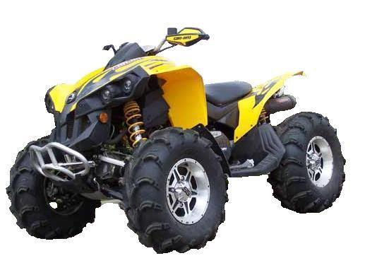 Traditional Riser Stealth Snorkel kit for Can-Am Renegade G1 500  800