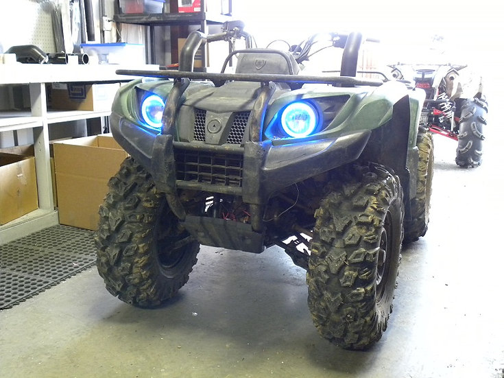 SYA ANGEL EYES LED KIT FOR YAMAHA GRIZZLY 350-400-450-660