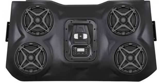 RZR 900 1000 XP 1000 Bluetooth 4 Speaker Overhead Weather Proof Audio System