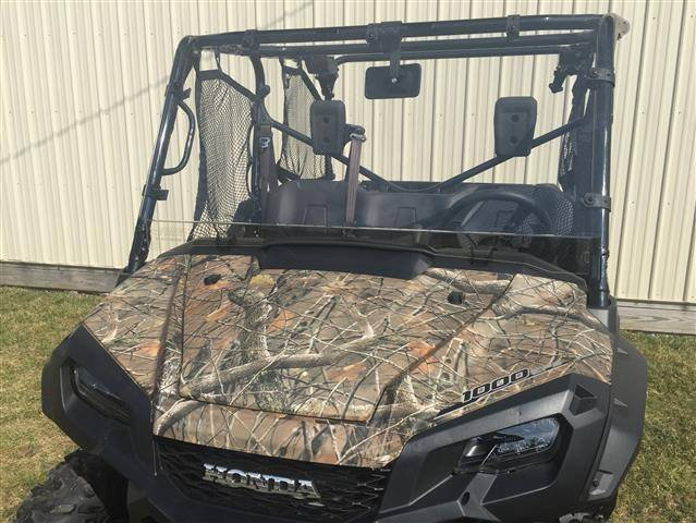 FRONT FULL WINDSHIELD FOR PIONEER 1000