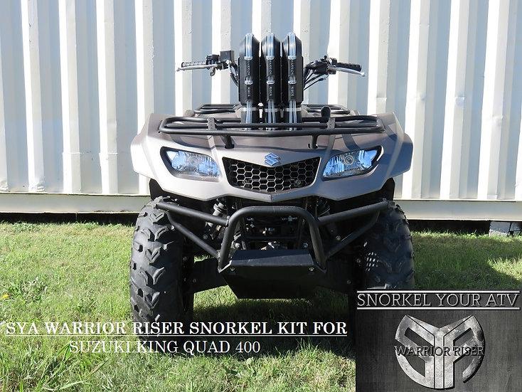 SYA Warrior Riser Full Snorkel kit for King Quad 400 08-21