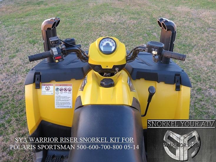SYA Warrior Riser Snorkel kit for Polaris Sportsman 400-500-600-700-800  05-14