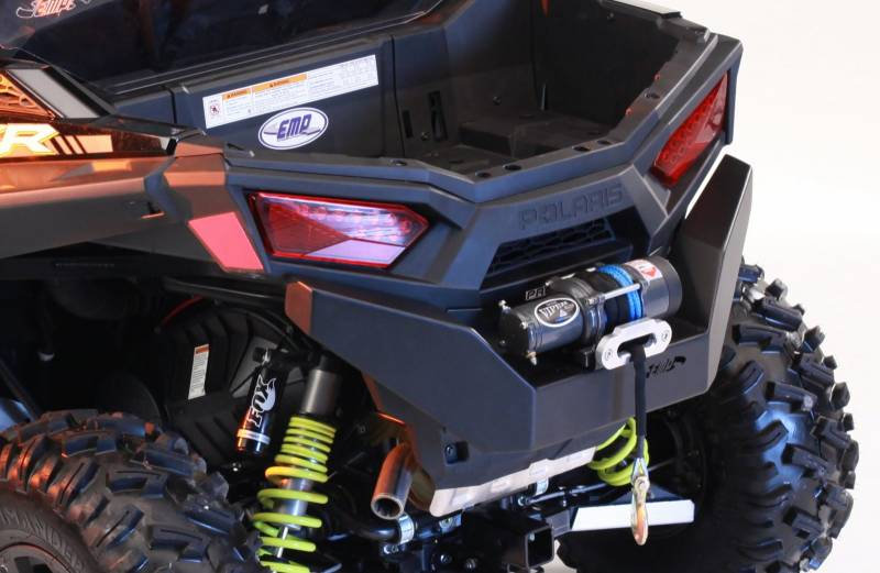 REAR BUMPER WITH WINCH MOUNT FOR RZR 900 15-19