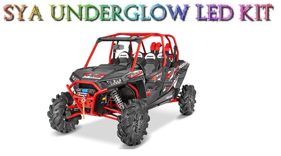 SYA RGB MULTI COLOR LED UNDERGLOW LIGHT KIT FOR HIGH LIFTER EDITIONS